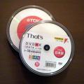 PCのデータも結構な量になってきたので、 久しぶりにDVDに焼こうかと思い 先日買っておいた「TDK DVD−R」を取り出しPCにセット。 ライティ...