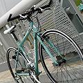 先週の土曜日の晩に、ようやく届きました。 ビアンキのローマ2というクロスバイクのド真ん中のモデルです。 自転車に乗るのは何年ぶりでしょう? 翌日、川...