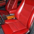 実に2台のW124で15年間25万キロプラス使ってきた シートカバーも、2004年12月にオリジナルデザインでついに 革張りに張り替えました。(iS...