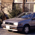 仕事用にはもっと実用車をと、2台目の購入を検討。1986年、年間の走行距離も考慮し、エコノミーである ディーゼル+ターボのジェミニ(N-JT600N...