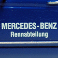1954 Mercedes-Benz Rennabteilung 異様にフロントオーバーハングが長いこのクルマは、確か300SLのエンジンを積み時速...
