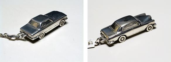 タグに記される560SLと280SE coupeです。